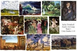 Color Studies  1-10