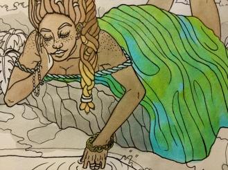 Earth goddess detail