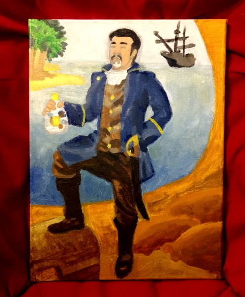 Lyman as a Pirate