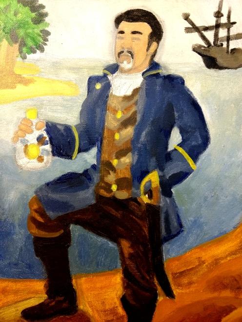 Lyman as a Pirate (detail)