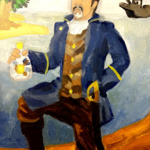 Lyman as a Pirate (detail)